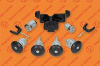 Locking cylinder set of Ford Transit 2006 Trateo