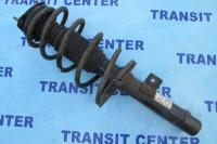 Front shock and spring strut leg Ford Transit Connect, left.