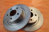 Brake disc Ford Transit Connect, rear