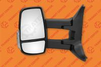 Mirror left long arm Ford Transit 2014 electric 6 pin Trateo