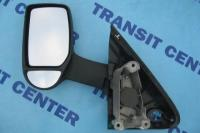 Long arm manual mirror left Ford Transit 2000-2013