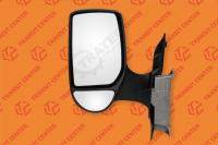 Left short arm manual mirror Ford Transit 2000-2013 Trateo