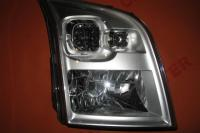 Headlight right manual Ford Transit 2006-2013