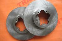 Front brake disc RWD FWD 16 Ford Transit 2006-2013