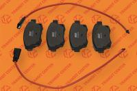 Rear brake pads Ford Transit 2006-2013